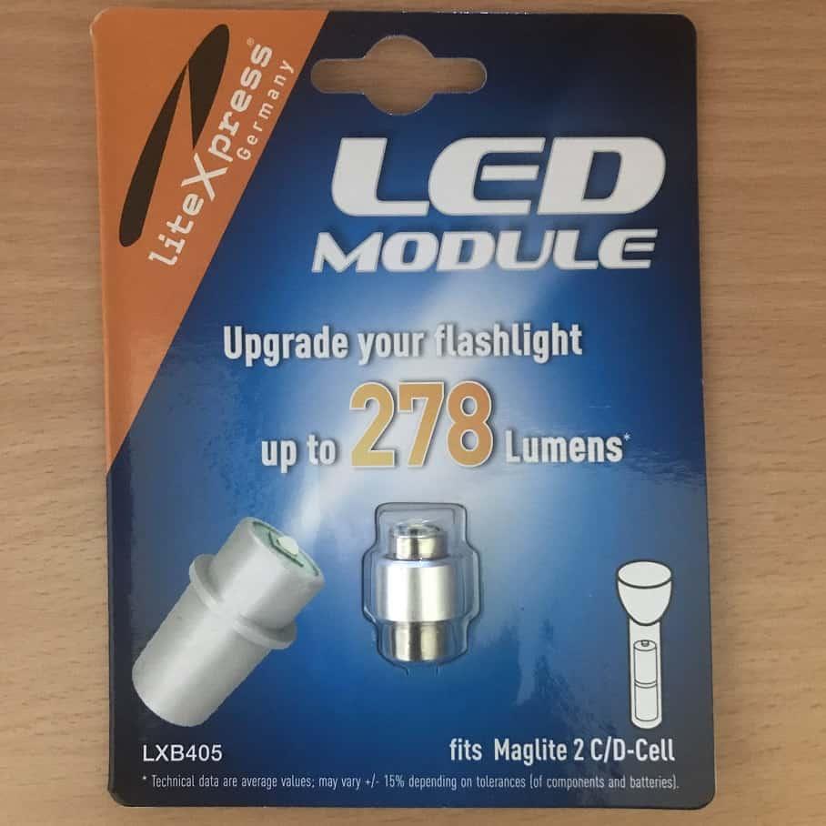 LED modul 2D elemlámpákhoz