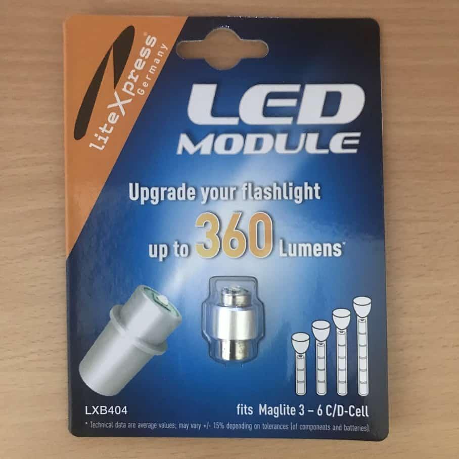 LED modul 3-6D elemlámpákhoz