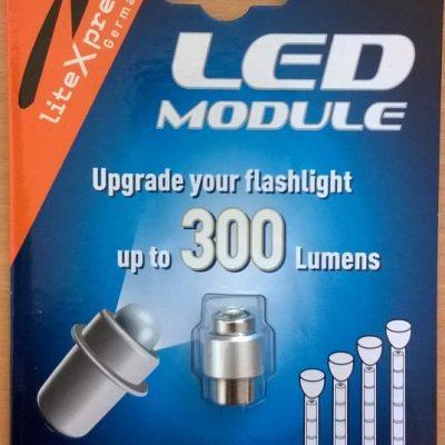 LED modul 3-6D Maglite elemlámpákhoz